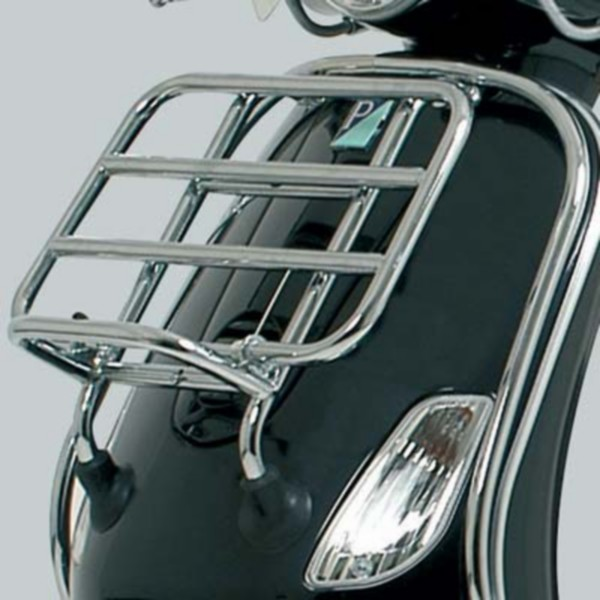 Front carrier foldable Vespa LX chrome