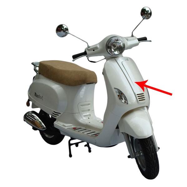 Voorscherm China LX Napoli Riva VX50 wit