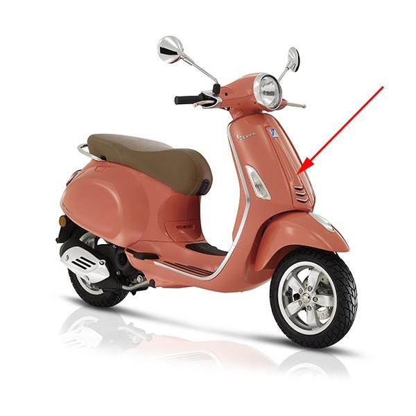 Voorscherm Vespa Primavera roze 889 a midden Piaggio origineel 1b000203000t9