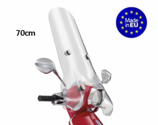 Windscherm hoog + bevestigingsset (made in EU) model origineel Vespa Sprint 70cm