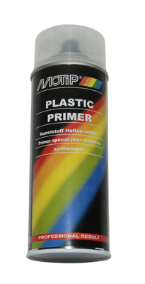 plastic primer spray paint 400ml spray Motip