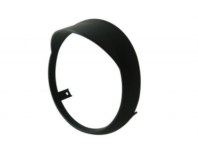 Headlight rim with shed Vespa Vespa Primavera matt black