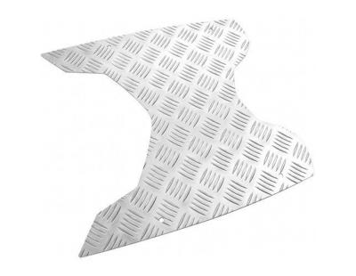 Treeplank allu-zilver Peugeot New-Vivacity