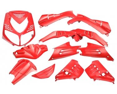 plaatwerkset peugeot speedfight 13-delig ferrari rood