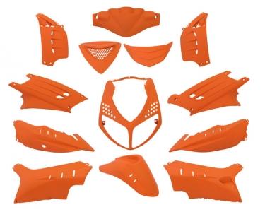 plaatwerkset peugeot speedfight 13-delig mat oranje