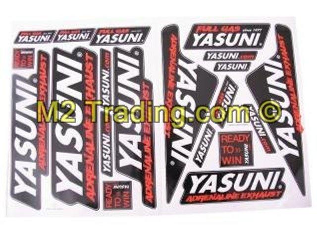 Stickerset 2 X 45Cm X 35 Cm Yasuni