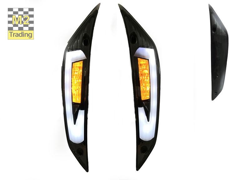 Knipperlicht Zip 2000 Power1 led voor audi look smoke