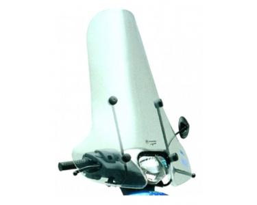 windscherm faco piaggio zip-2000 inclusief bevestigingsmaterialen