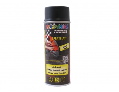 Plastic spray matt black 400ML Dupli color sprayplastic