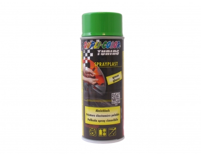 Plastic spray green 400ML Dupli color sprayplastic