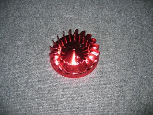 Koelvin Minarelli Rood Anodised Tnt (Ventilator)