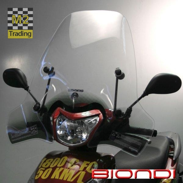 middel hoog windscherm biondi vision 50