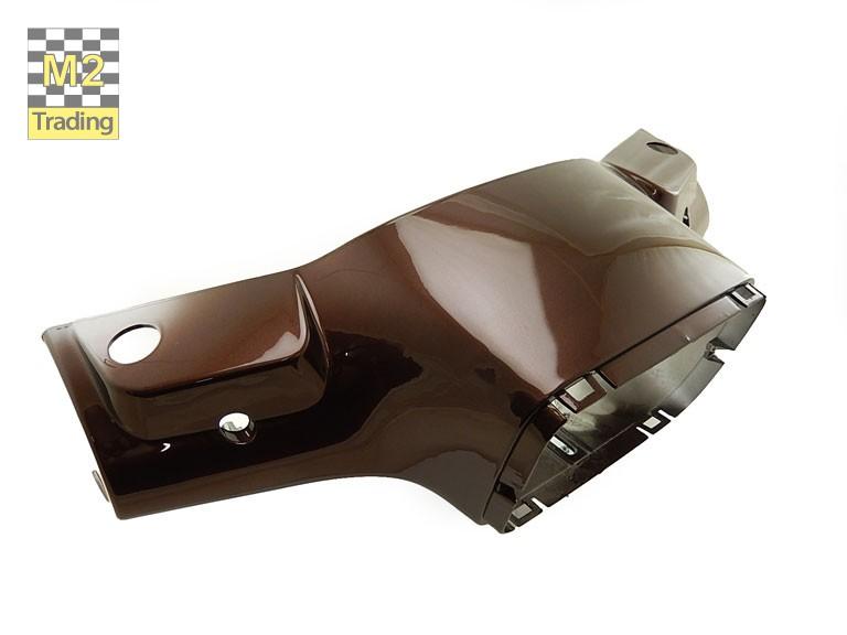 Stuurkap voorzijde China Vespa S metallic bruin