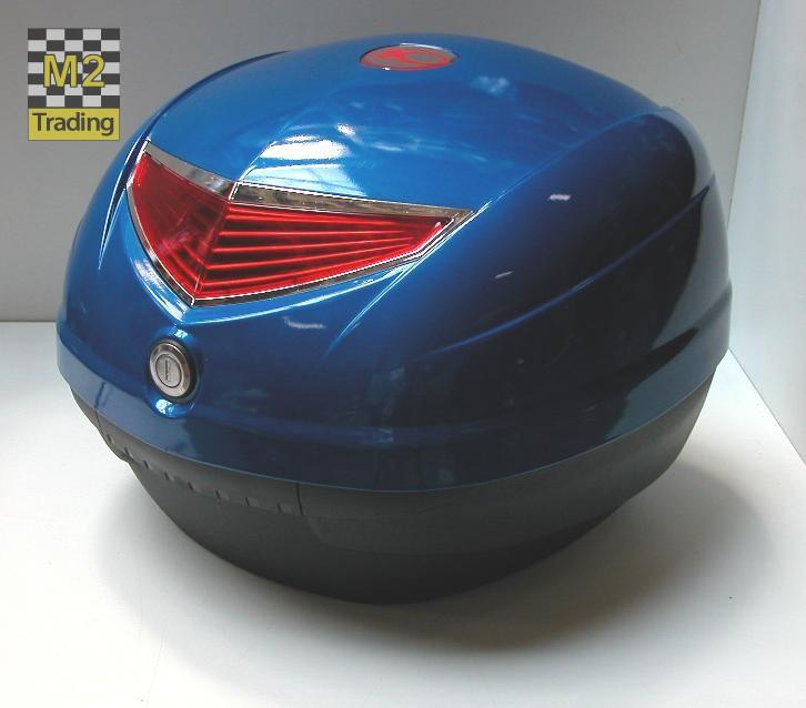 topkoffer Kymco 33 liter blauw