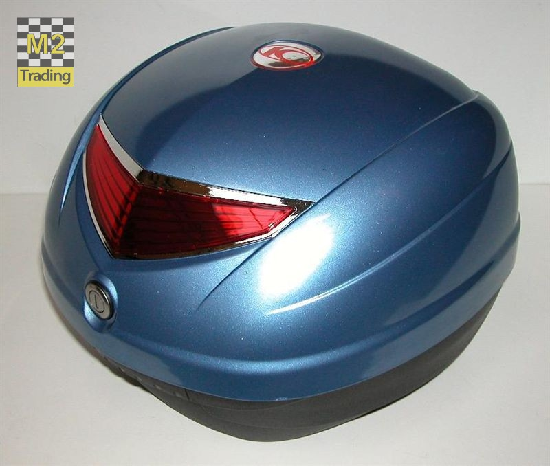 topkoffer Kymco 32 liter crystal blue