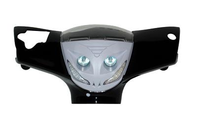 Koplamp + ledverlichting dagverlichting zip2000 wit DMP