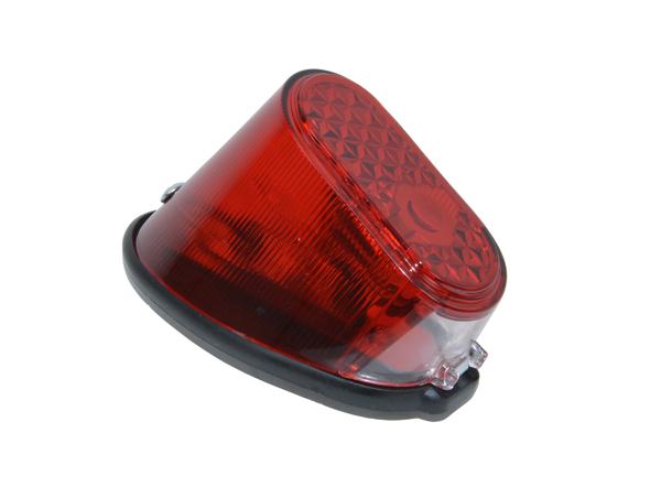 Achterlicht compleet Puch MV50 MS50 rood glas