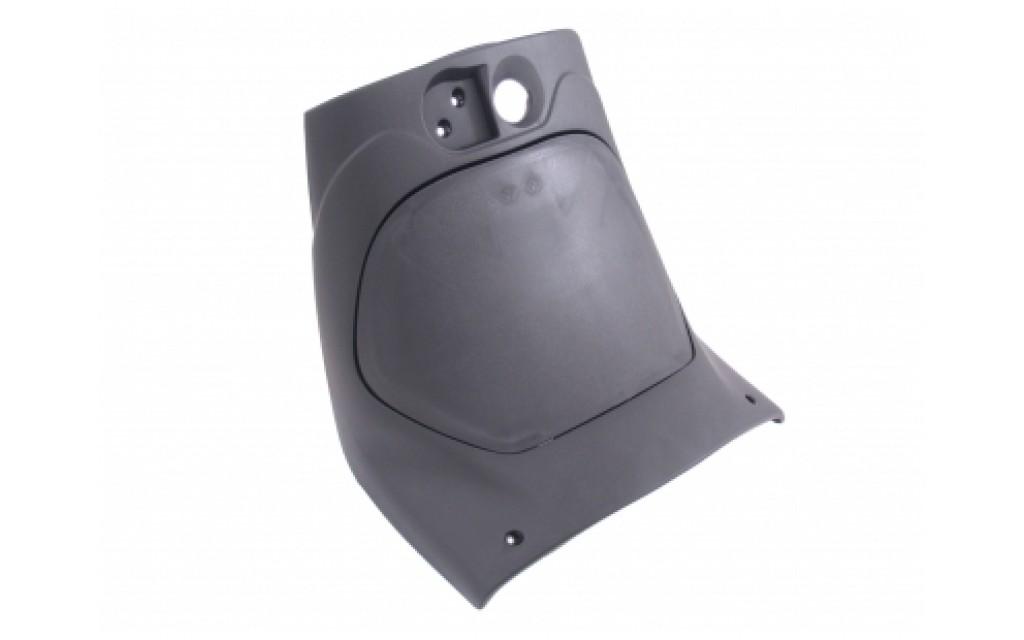 Beenschild met deksel Piaggio Zip 2000 zwart
