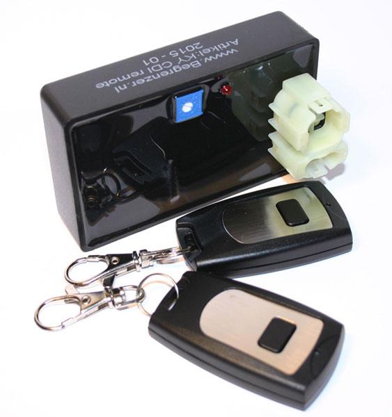 CDI met toerenbegrenzer regelbaar plus afstandsbediening Kymco Sym 4-takt