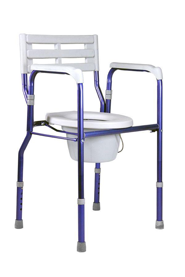 toiletstoel HC-2180 opvouwbaar met toiletoverzet