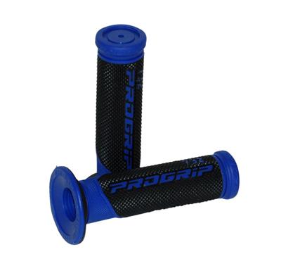 Handvatset scooter Progrip zwart blauw 732