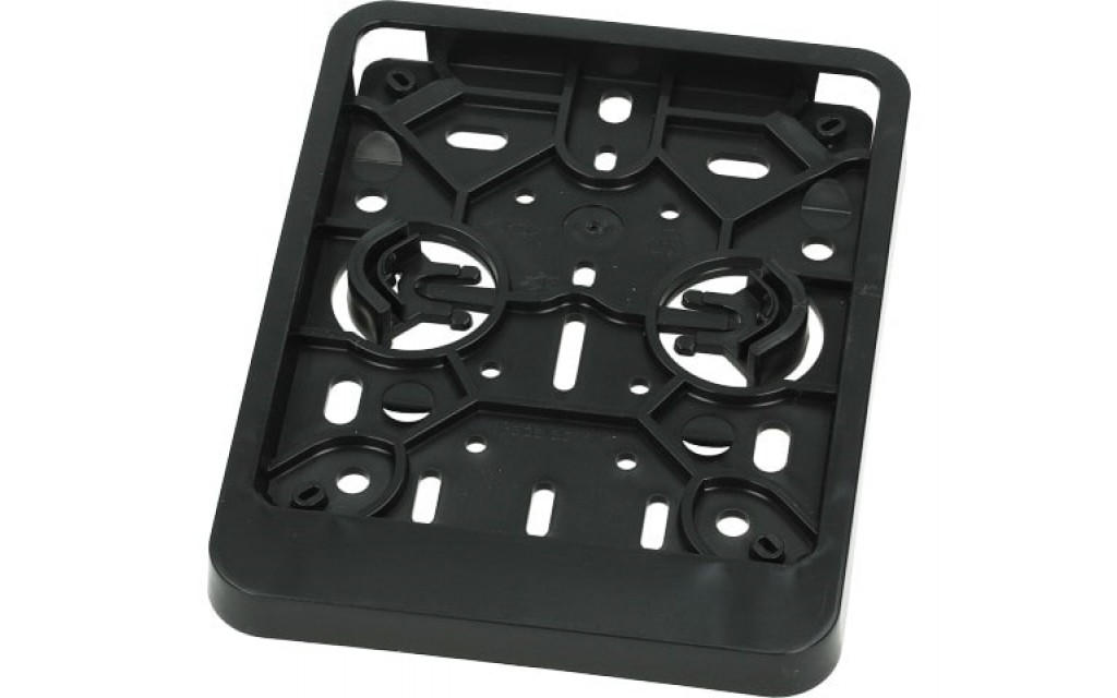 Kentekenplaathouder Belgie 100x120MM zwart
