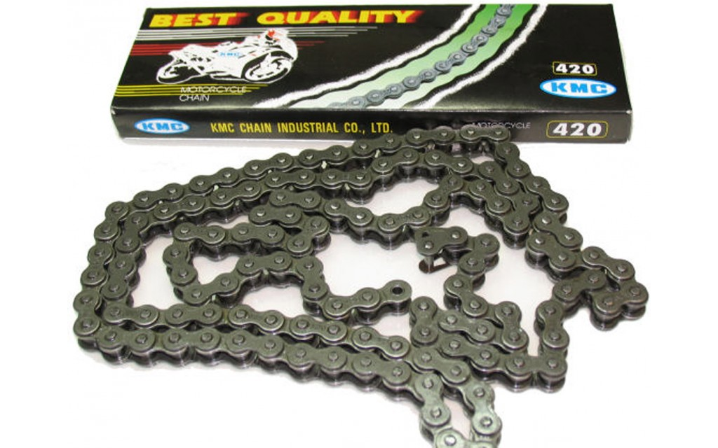 Chain 420-122 links moped shift KMC