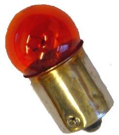 Lamp 12V-10W Ba15S Oranje E-Keur knipperlicht