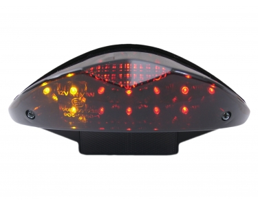 Achterlicht compleet Led+Richting aanwijzers Black-Edition Yamaha aerox