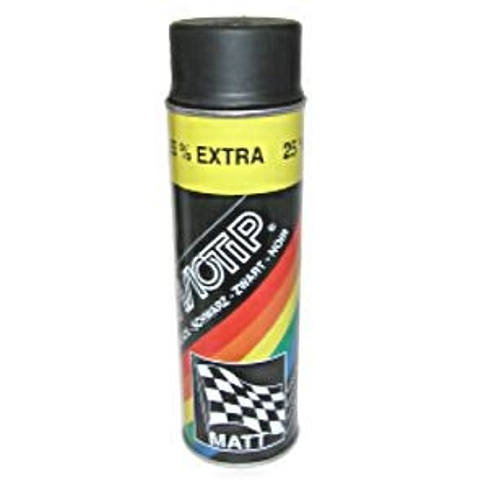 Motip Auto Lak Black Mat 500Ml