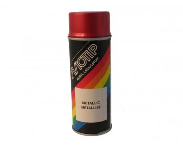 Spray paint metallic red Motip 400Ml