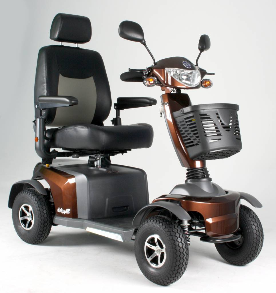 Scootmobiel Excel Galaxy 2 Macadamia Brown