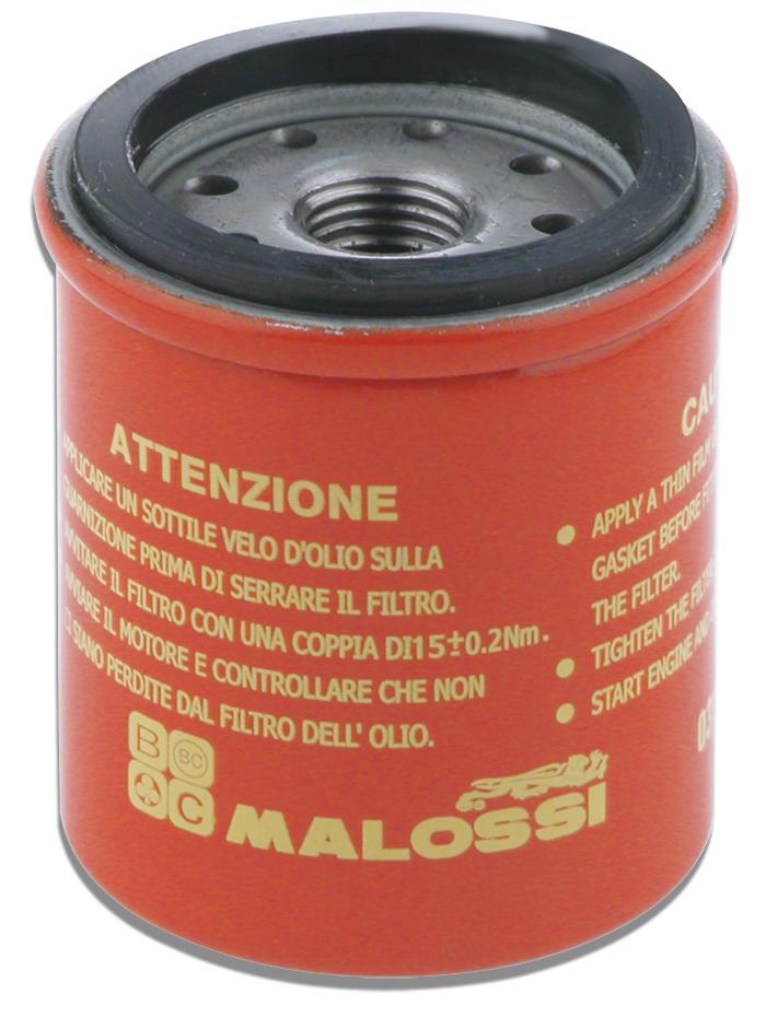 Oliefilter Malossi Piaggio 125cc 150cc 180cc 250cc 300cc 4-takt