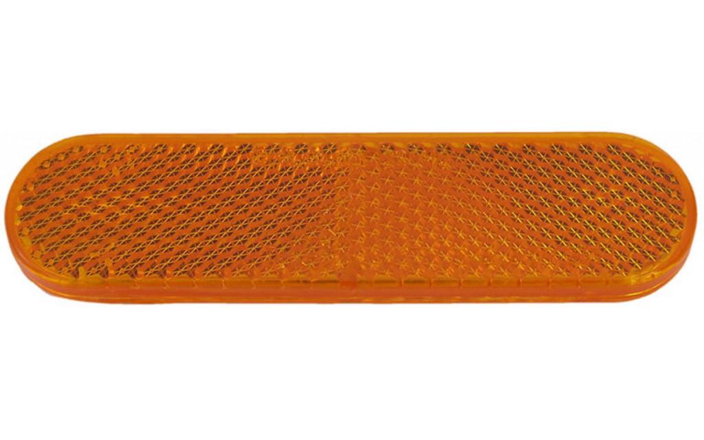 Reflector zijscherm Piaggio oranje Zip Vespa origineel