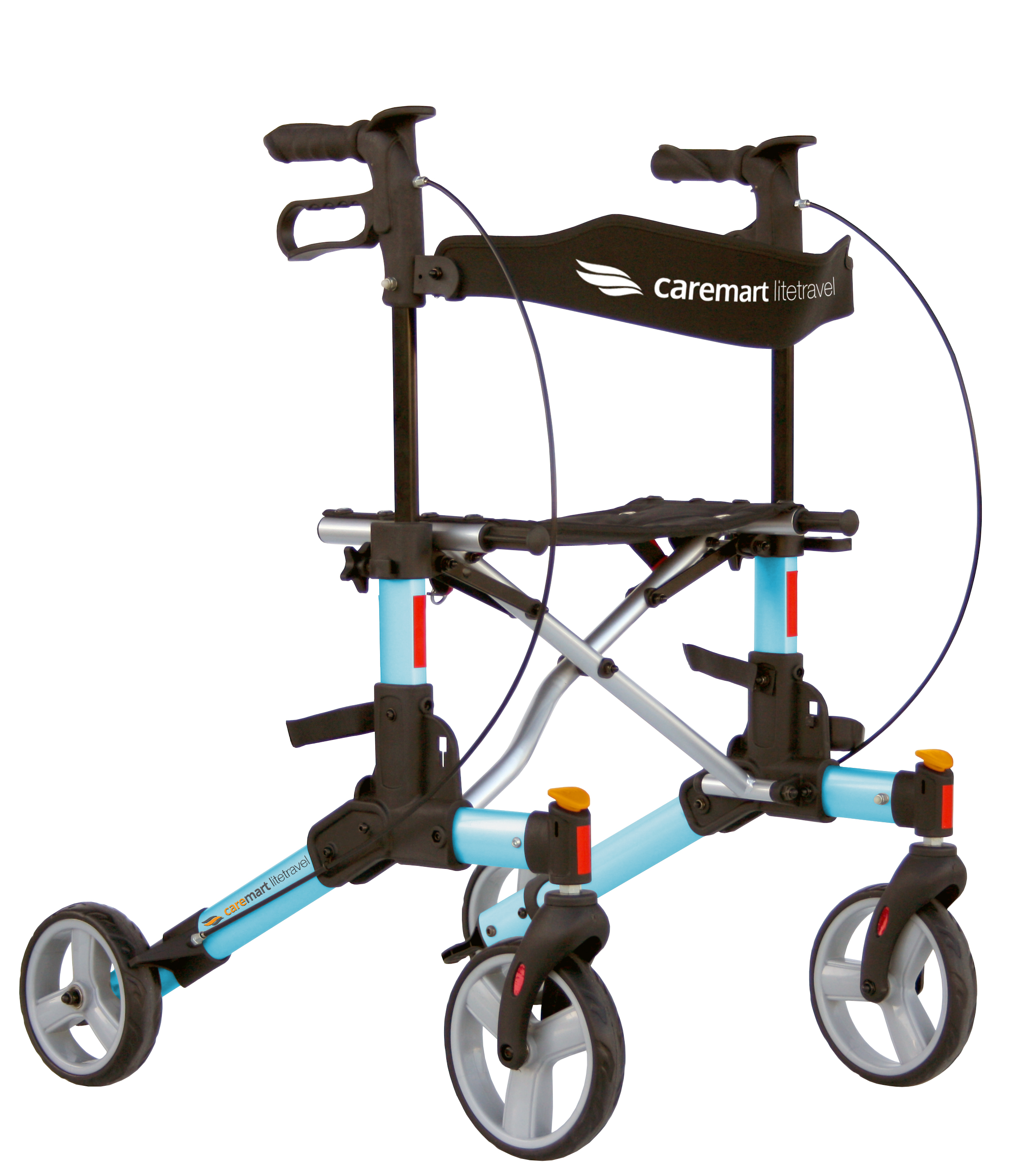 Rollator Caremart Litetravel Kite Blue