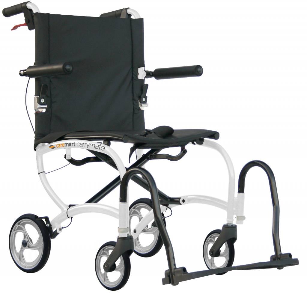 Rolstoel Caremart Carrymart lichtgewicht meeneemrolstoel
