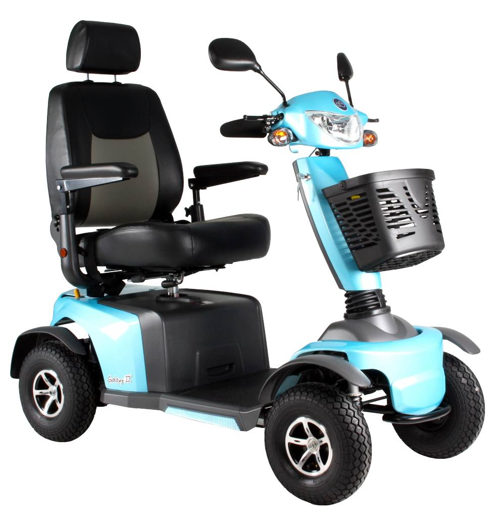 Scootmobiel Excel Galaxy 2 Kite Blue