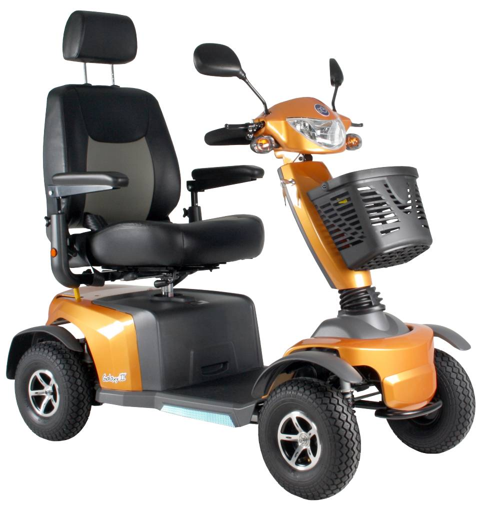Scootmobiel Excel Galaxy 2 Spice Orange