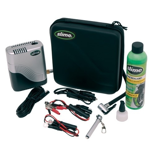 Slime Reparatie set plus compressor Motor scooter Moto repair