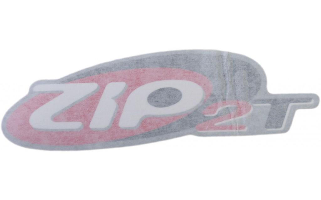 Sticker origineel Piaggio Zip 2000 zwart rood Zip 2T