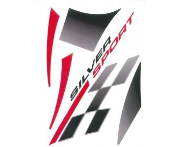Stickerset Peugeot Vivacity Silversport