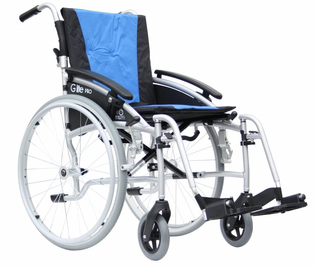 Rolstoel Excel G-Lite Pro 24 inch wielen transport rolstoel