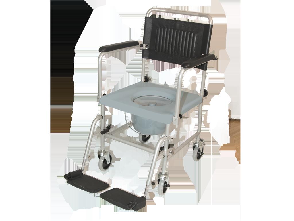 Toiletstoel met wielen TRS-130 Drive