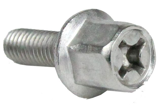 Exhaust nut M6 Stainless steel scooter