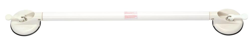 Wandbeugel met zuignappen Drive Solido 88 cm wit