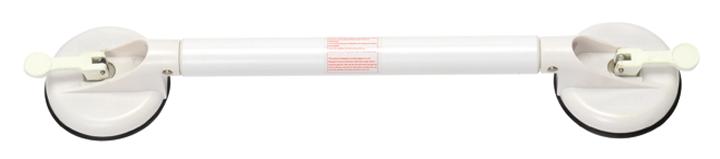 Wandbeugel met zuignappen Drive Solido 58 cm wit