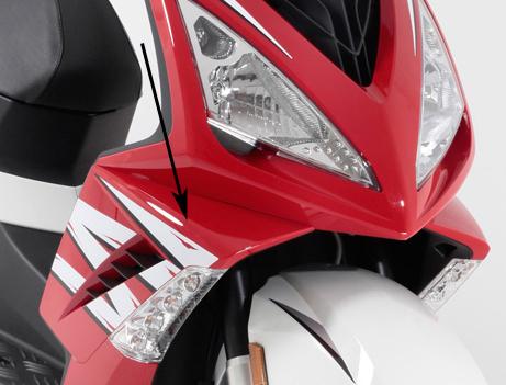 Zijscherm rechtsvoor Peugeot Speedfight 3 Origineel G9