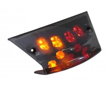 Achterlicht compleet Led+Richting aanwijzers Black-Edition Piaggio Zip
